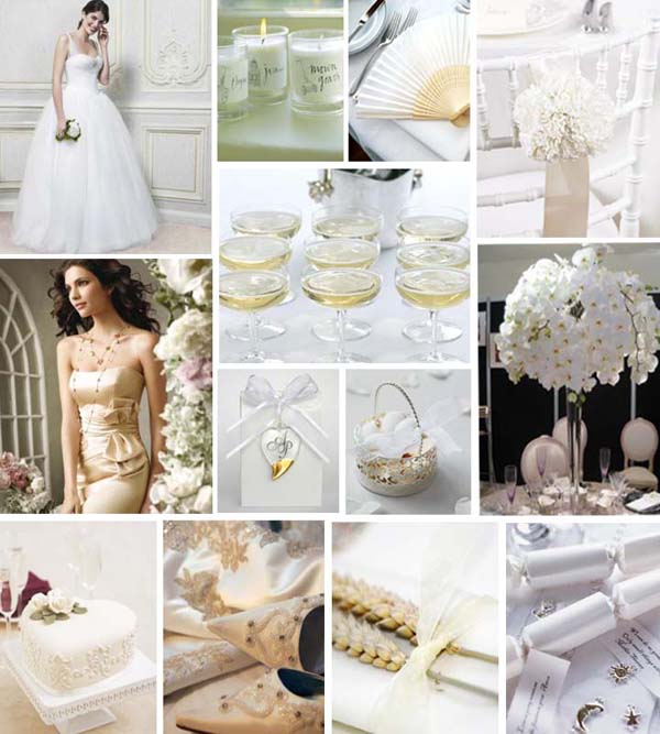 White and Ivory Wedding Inspiration - Primadonna Bride