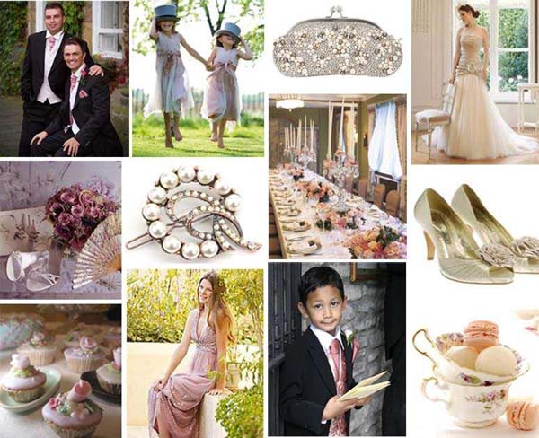 South African Weddings Vintage romance pink
