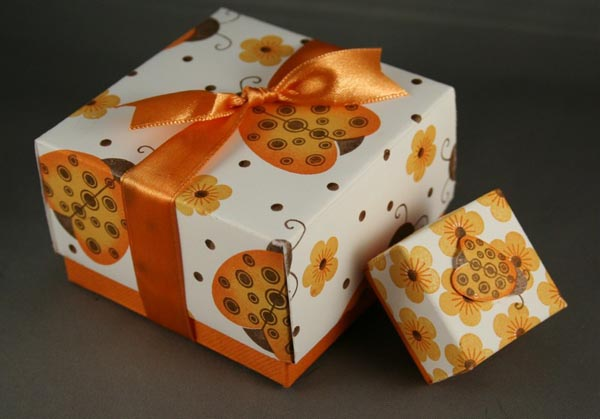 Wedding favour box - primadonnabride