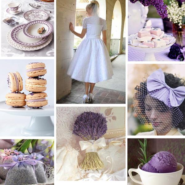 Lavender vintage Primadonnabride