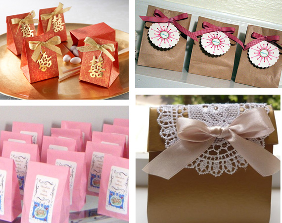 Wedding favours - ideas and packaging - Primadonna Bride