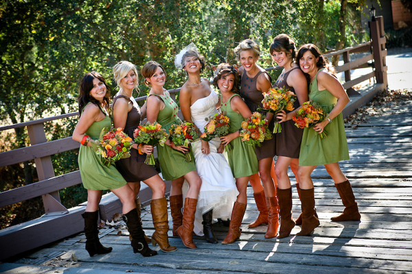 different bridesmaids - primadonnabride.co.za