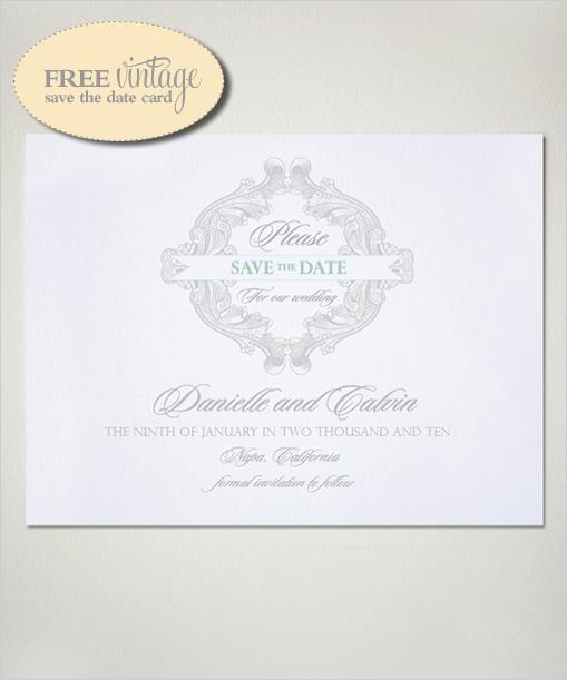 freesavethedatecard