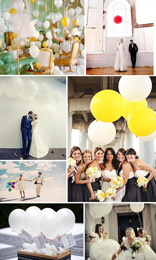 Wedding Ideas: Balloons - Primadonna Bride
