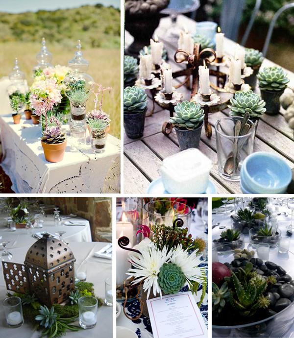 Diy Wedding Decoration Ideas That Would Make Your Big Day: Succulent Wedding Decor Ideas