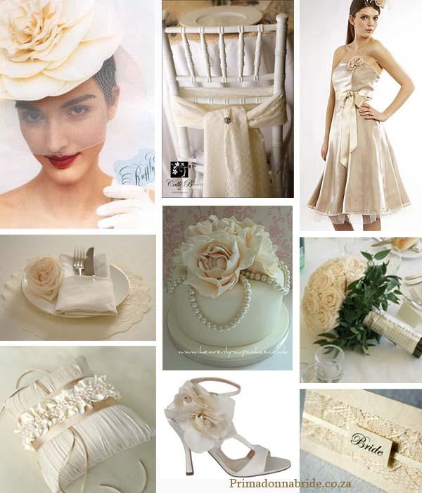 Vintage ivory romance