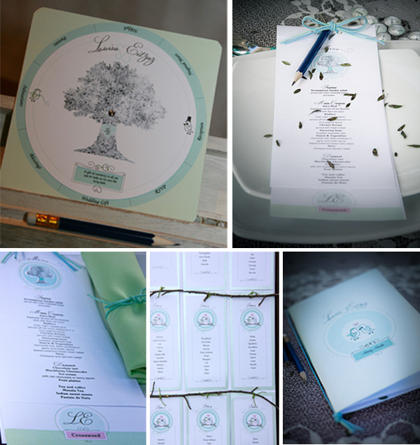 Stationery - Real Wedding - Louisa and Eitzaz