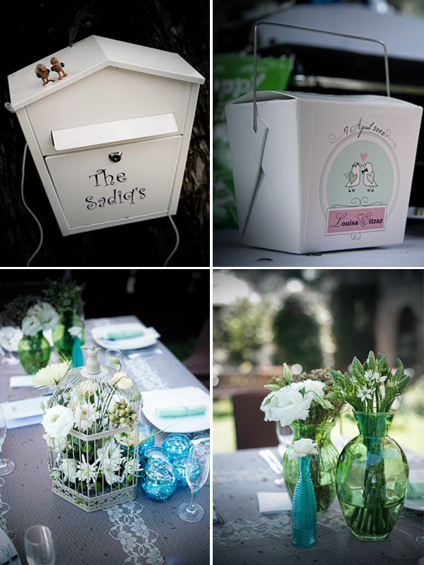 Wedding decor - Louisa and Eitzaz
