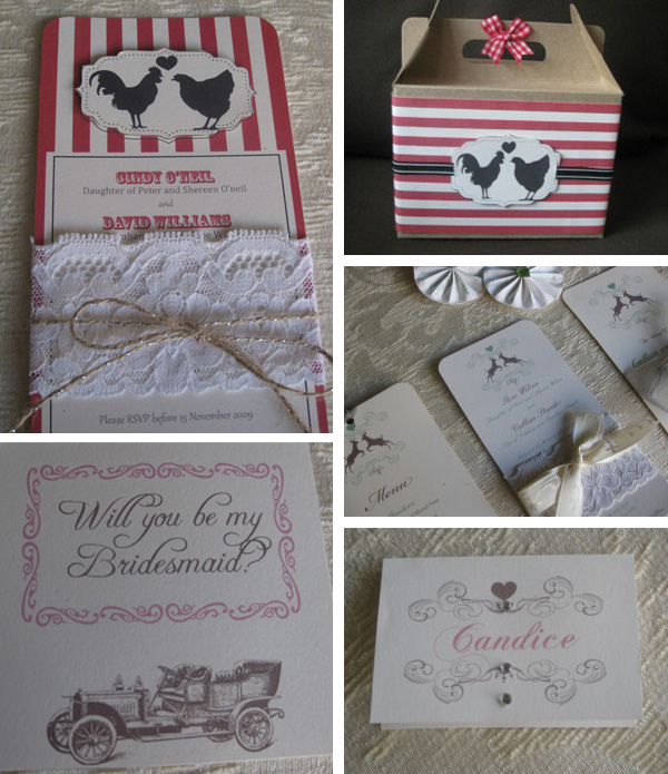 Wedding invitations and stationery - Cape Town