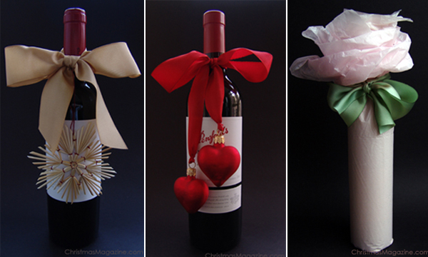 Ways to gift wrap a bottle of wine