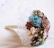 Amy's DIY Brooch bouquet
