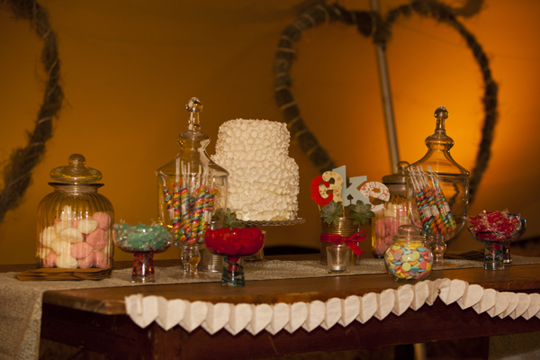 Ben and Amy's candy buffet