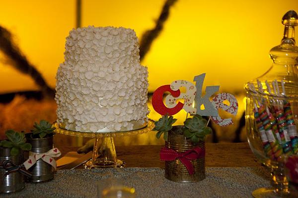 Wedding cake - Ben and Amy