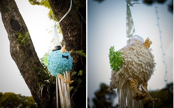 Bride and groom pinata