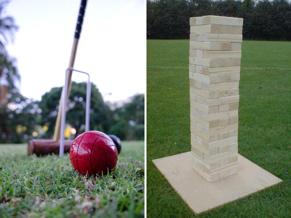 croquet and jenga hire - Quirky Parties
