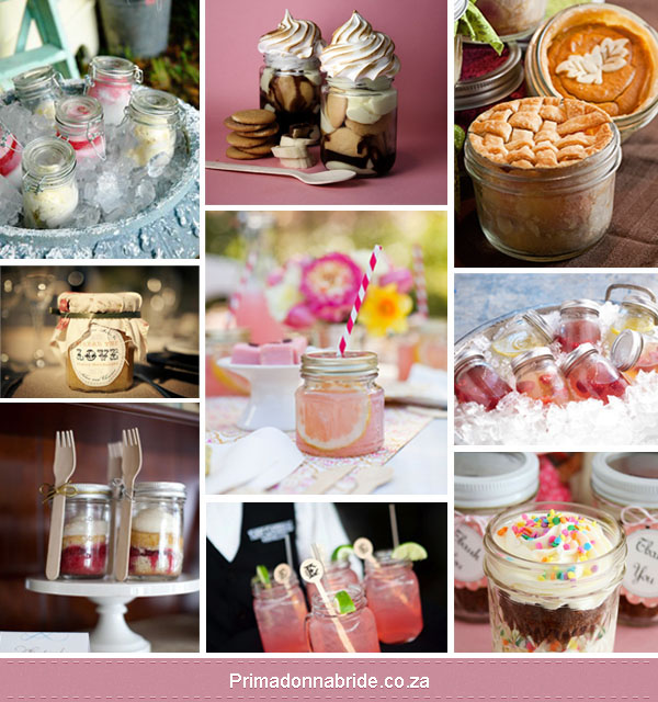 Maison jar cupcakes, drinks and desserts