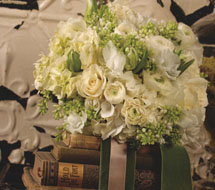 Pale green and bronze wedding ideas