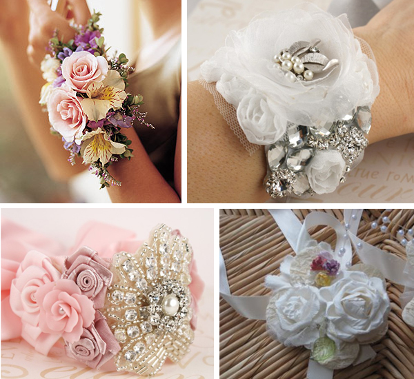 Wedding Flowers Corsage Ideas: Alternative And Non Traditional Wedding Bouquets