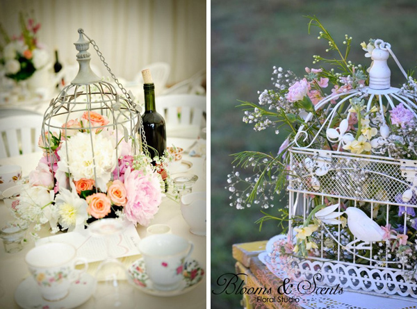 birdcage decor for weddings