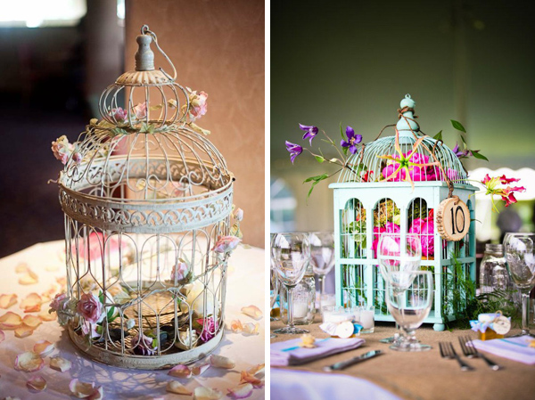 Wedding Birdcage Ideas