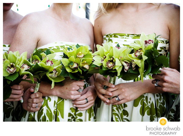 green-floral-bridesmaids-dresses