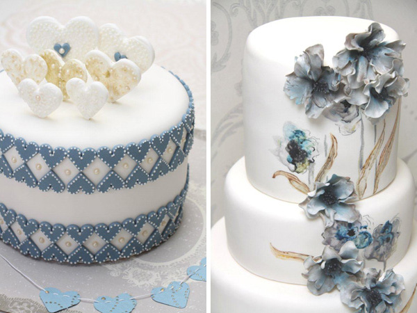 Love at First Sight wedding cakes