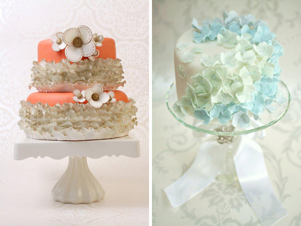 Wedding cakes -Love at First Sight