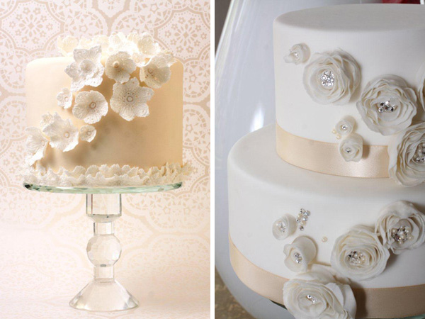 Wedding cakes by Love at First Sight