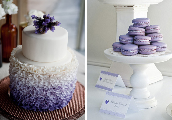Herb - lavender wedding ideas