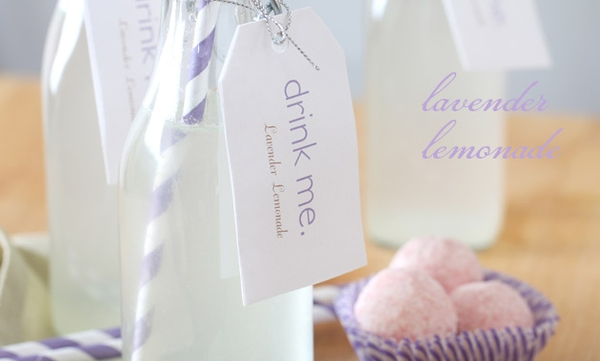 Lavender herb wedding ideas 1