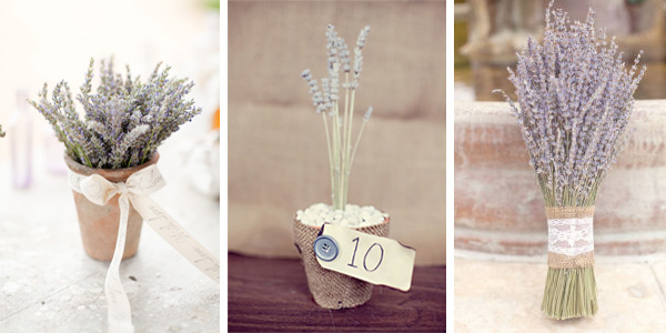 Lavender herb wedding ideas 4