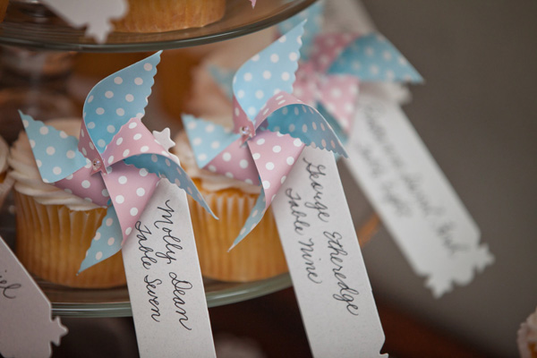 Pinwheels - seating ideas for weddings